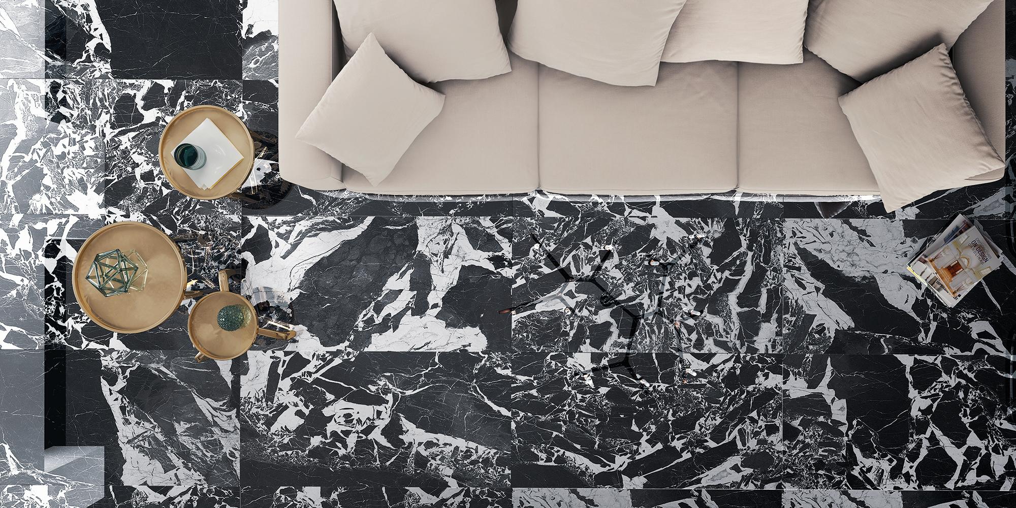 Ceramica y Gres Porcelanico Imitación a Marmol AMULETTO